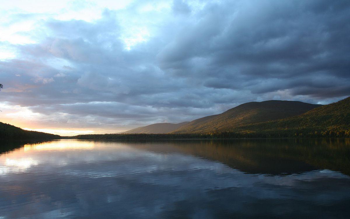 Фото бесплатно вода, река, озеро, деревья, лес, небо, облока, природа, природа