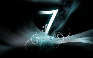 Фото бесплатно windows 7, темный, фон
