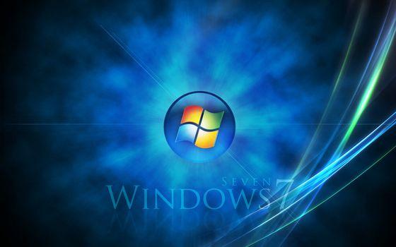 Фото бесплатно windows, семь, фон
