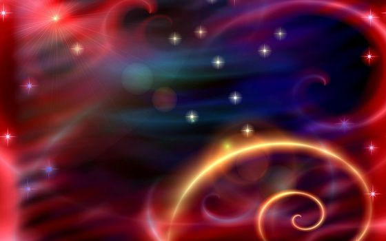 Заставки звезды, лучи, ярко