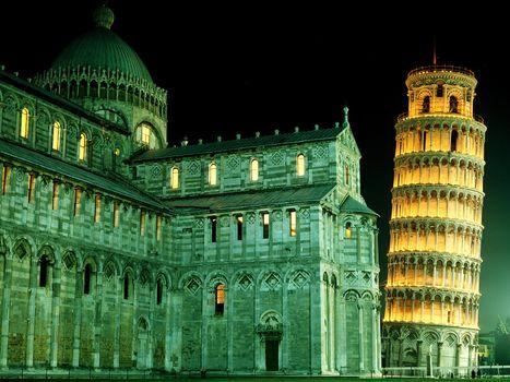 Фото бесплатно пізанська вежа, піза, башня