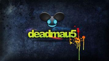 Заставки deadmau5,мертвая,мышь,надпись,логотип,hi-tech,разное