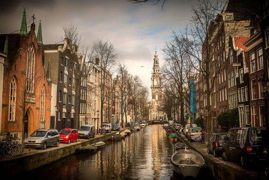 Бесплатно столица и крупнейший город нидерландов, амстердам - фото красивые