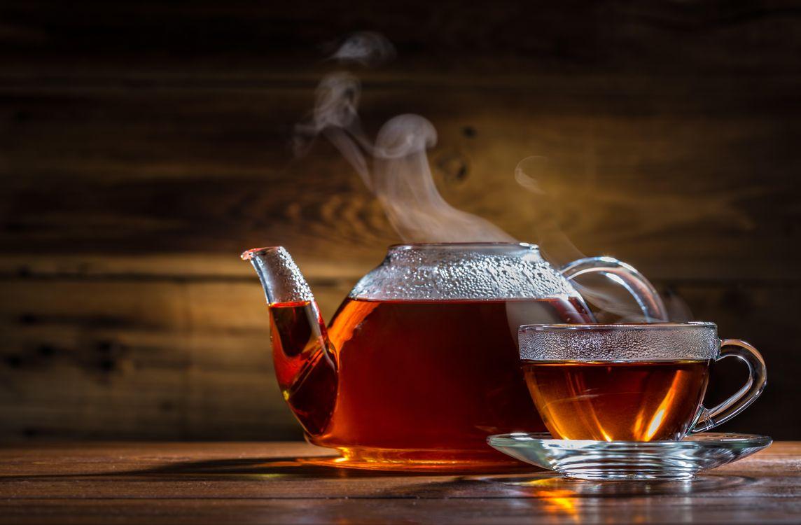 Фото бесплатно чай, кружка, чайник, напитки