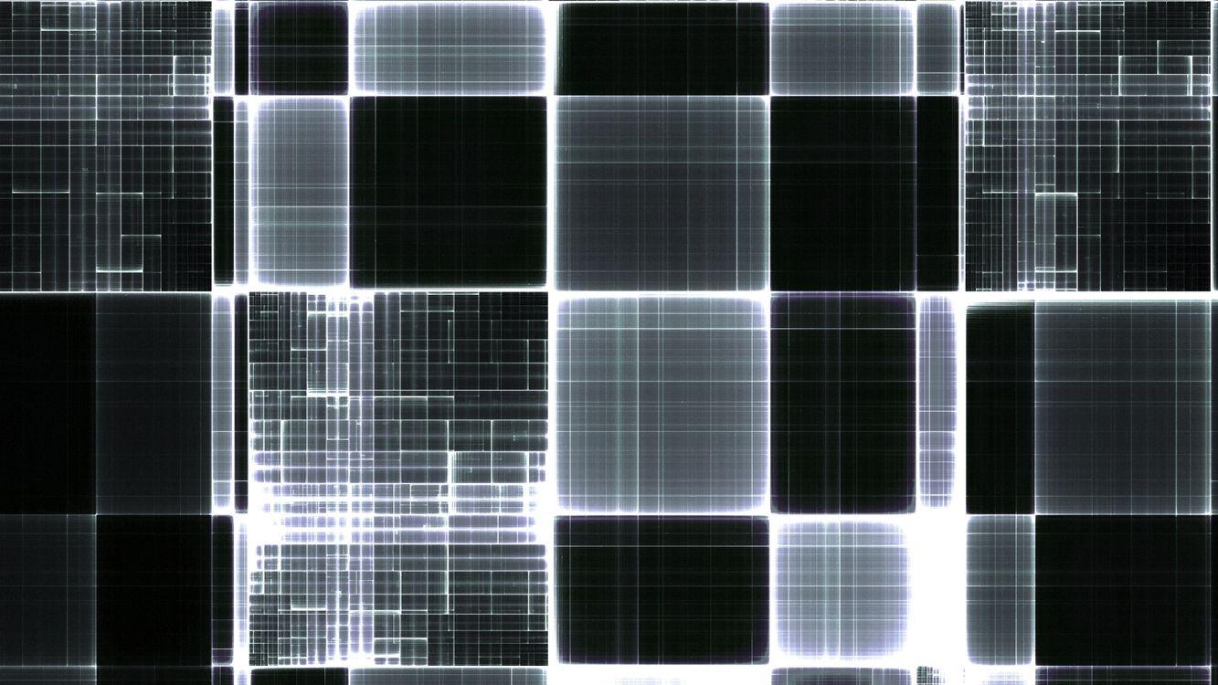 Фото бесплатно абстракция, квадраты, черные - на рабочий стол
