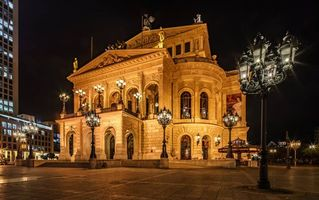 Бесплатные фото Frankfurt,Germany,Old Opera,Франкфурт,Германия Старая Опера