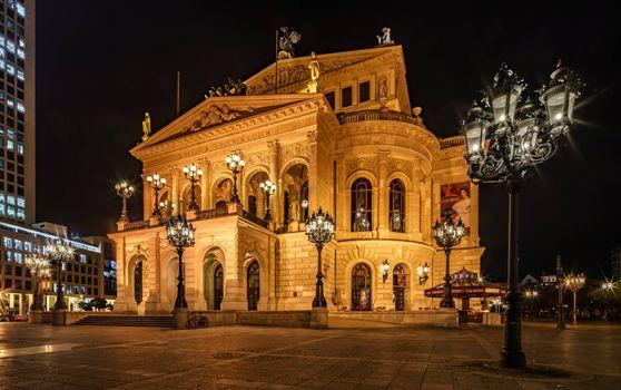 Photo free Frankfurt, Germany, Old Opera