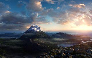 Фото бесплатно горизонт, природа, камни