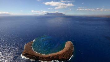 Фото бесплатно море, вода, горы, утес, волны, небо, природа