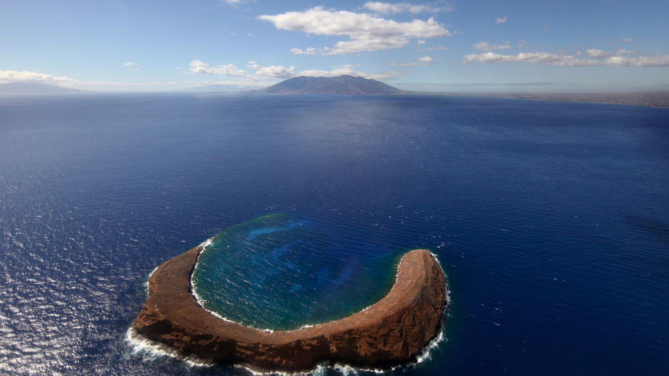 Фото бесплатно море, вода, горы - на рабочий стол