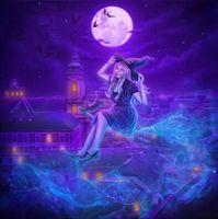 Фото бесплатно луна, ночь, фэнтези
