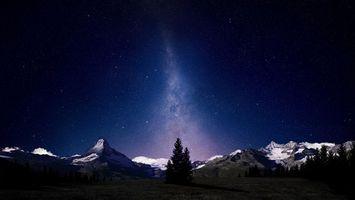 Заставки ночь, небо, звезды