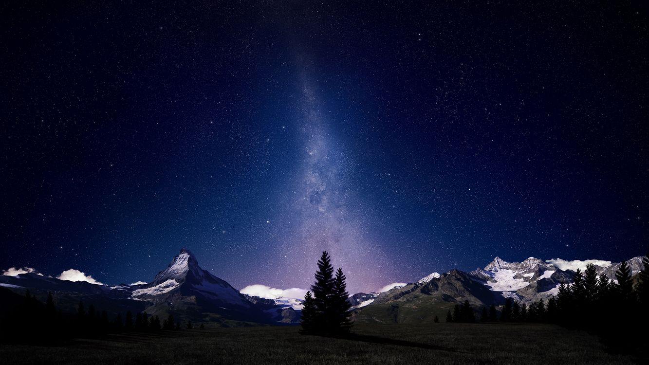 Обои ночь, небо, звезды картинки на телефон