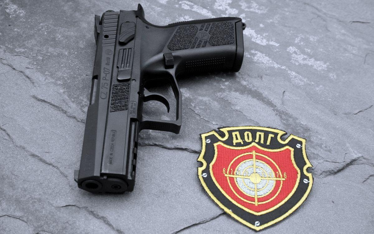 Фото бесплатно пистолет, черный, стрелять - на рабочий стол