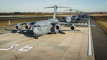 Фото бесплатно самолет, военный крылья, серый