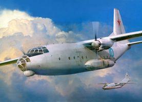 Фото бесплатно самолет, винты, кабина