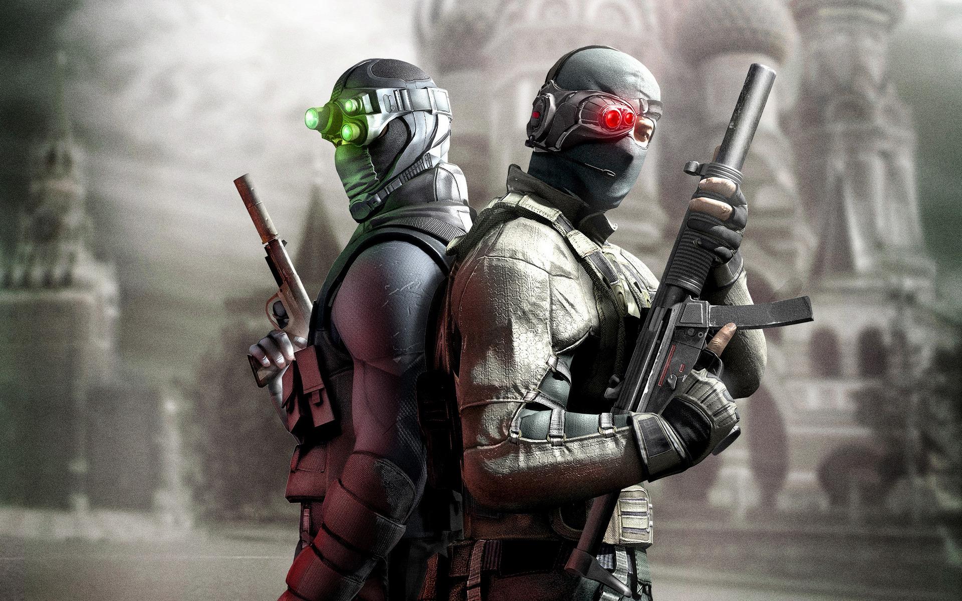 солдаты, оружие, пистолет