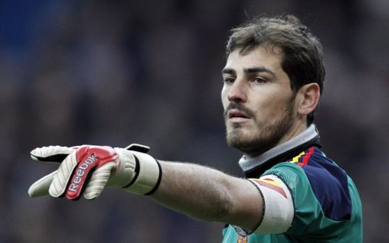 Photo free team of spain, real madrid, icer casillas