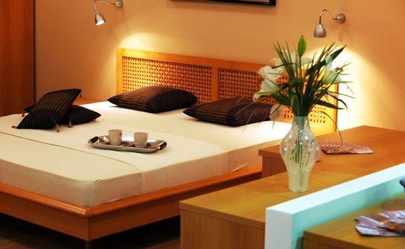 Фото бесплатно дизайн, интерьер, спальня
