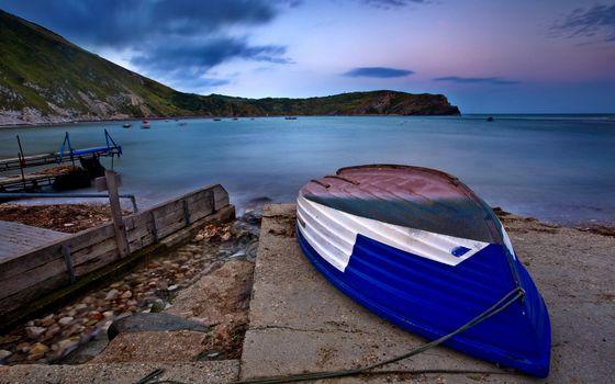 Фото бесплатно берег, лодка, люди
