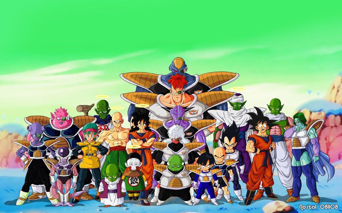 Фото бесплатно dragon, ball, warrior, fighter, goku, аниме, аниме