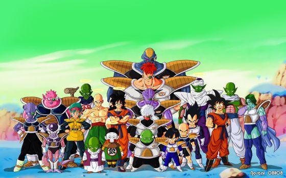 Фото бесплатно dragon, ball, warrior, fighter, goku, аниме