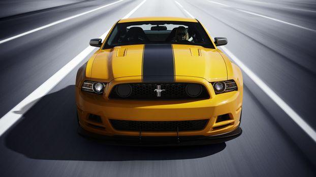 Photo free Ford, Stripe, Yellow