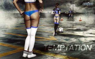 Фото бесплатно девушки, мяч, боди-арт