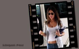 Фото бесплатно красивая, очки, черные