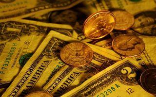 Фото бесплатно монеты, доллары, центы