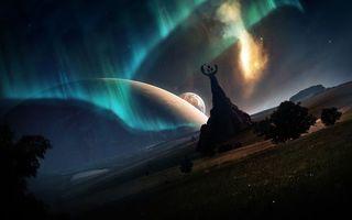 Заставки новые миры, планета, простор