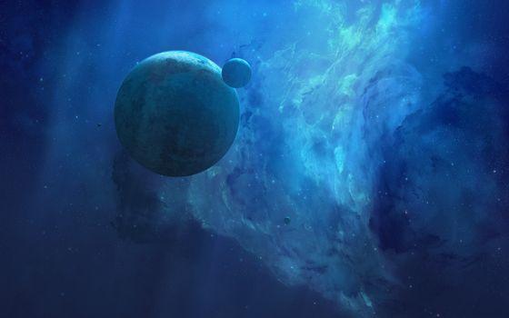 Photo free planet, satellite, alien