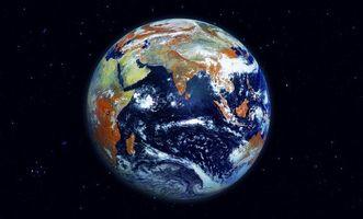 Бесплатные фото планета,облака,земля,океан,континенты,космос