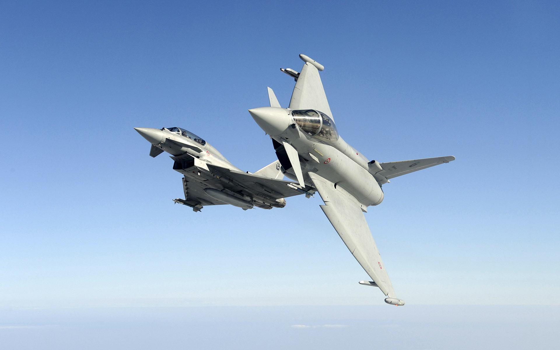 Обои самолеты, Eurofighter typhoon. Авиация foto 16
