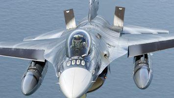 Фото бесплатно пилот, ракеты, самолета