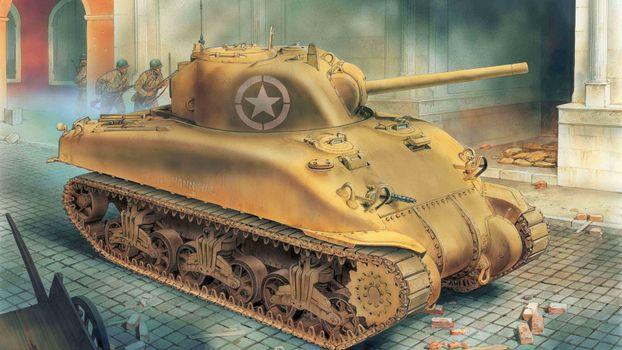 Фото бесплатно танк, world of tanks, гусеница