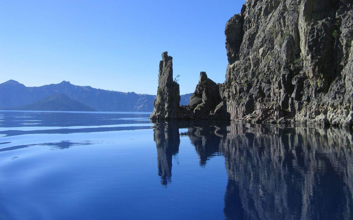 A beautiful screensaver water, river, lake