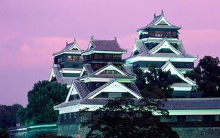 Бесплатные фото восток,красиво,здания,вечер,деревья,высоко,город