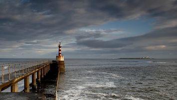 Бесплатные фото маяк,море,океан,мост,остров,разное