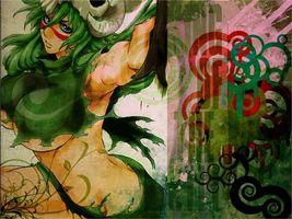 bleach, neliel, sword, green, babe