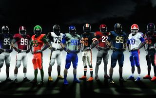 Бесплатные фото болельщики,игра american football,sport,американский футбол,найк,nice,спортсмен