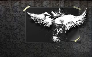 Бесплатные фото картинка,рисунок,череп,голова,кость,наклейки,обои