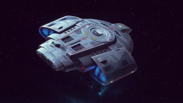 Фото бесплатно космический, корабль, космос
