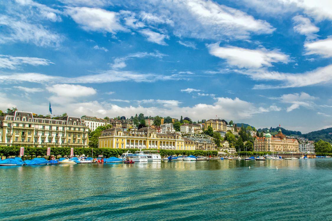 Фото бесплатно Lucerne, Швейцария, Люцерн, город