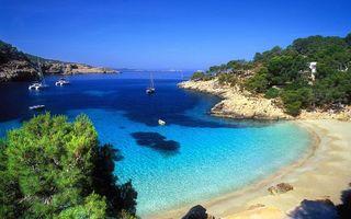 Заставки море, пляж, лодки