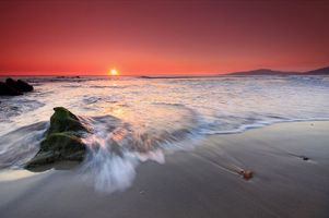 Бесплатные фото море,пляж,закат,пейзажи