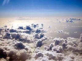 Фото бесплатно небо, тучи, пушинстые