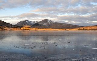 Бесплатные фото озеро,мороз,лед,корка,вода,горы,скалы