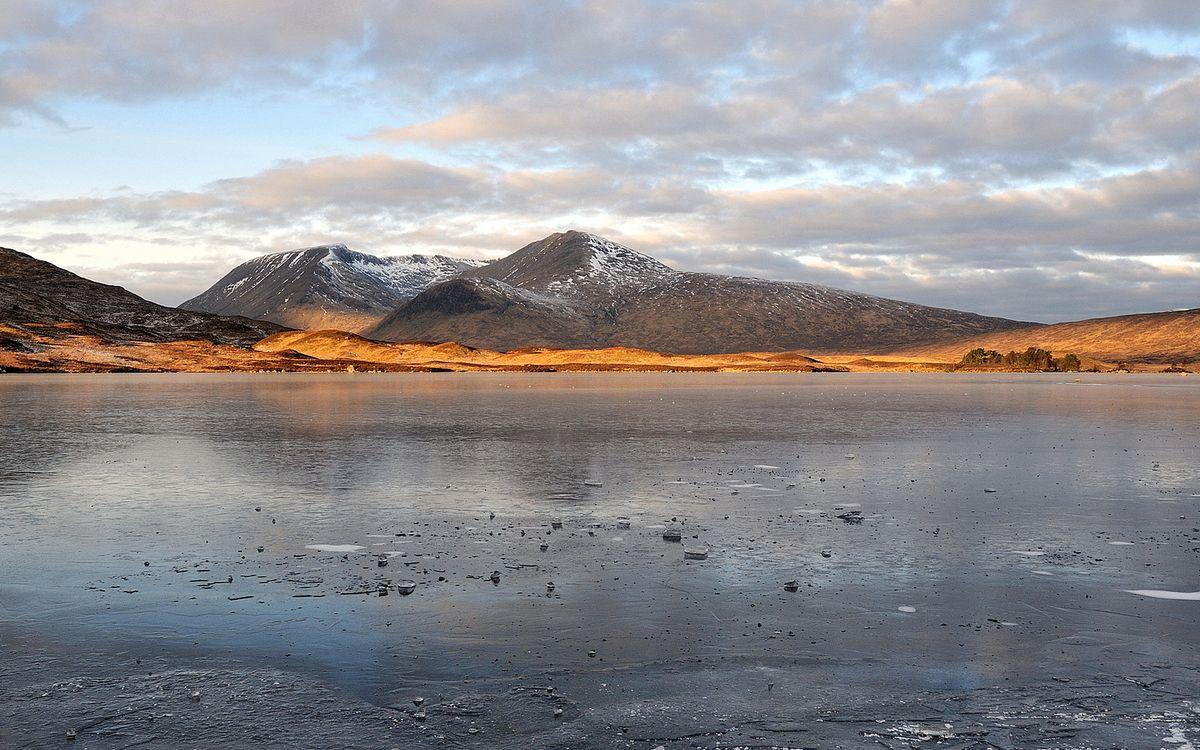 Фото бесплатно озеро, мороз, лед - на рабочий стол