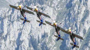 Фото бесплатно самолеты, спортивные, крылья